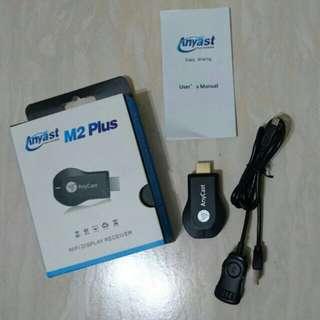無線wifi影音傳輸器 Anycast M2 plus