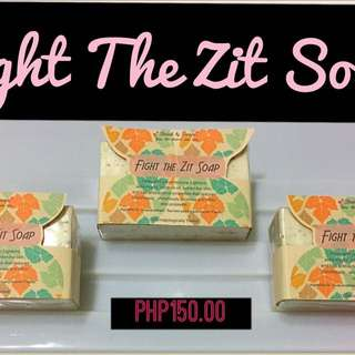 Fight the zit soap