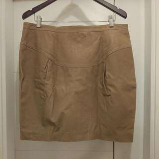 Selected Femme Leather Skirt