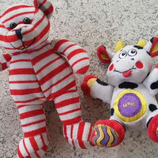 Soft toys for babies - Rattle Stuffed Toy
