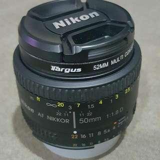 [Reserved] Nikon 50mm 1.8D LENS