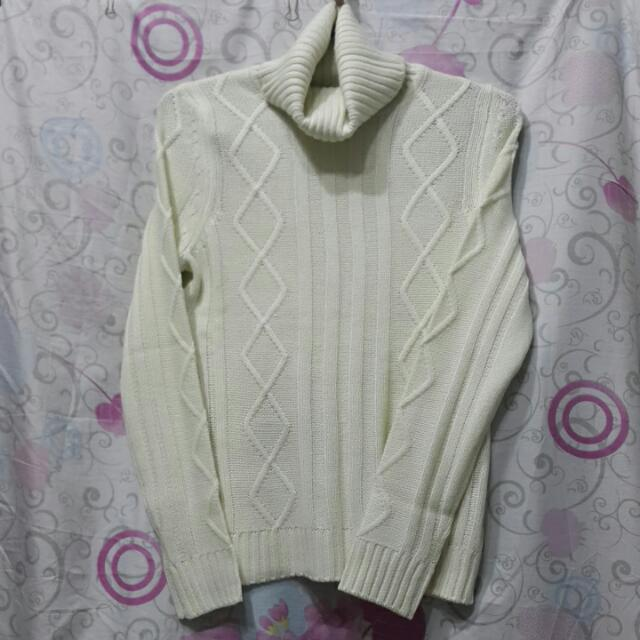 時尚高領毛衣