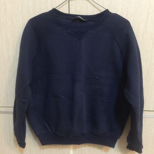 *降價*深藍衛衣 #一百元上衣