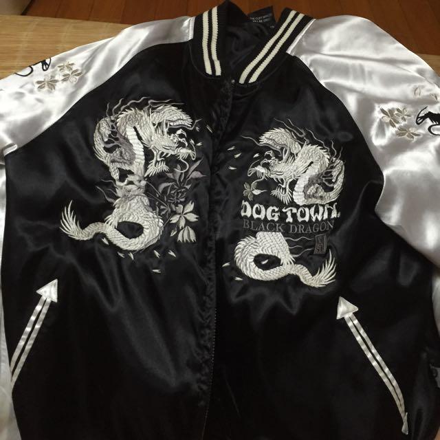 刺繡外套 黑龍 日本 橫須賀