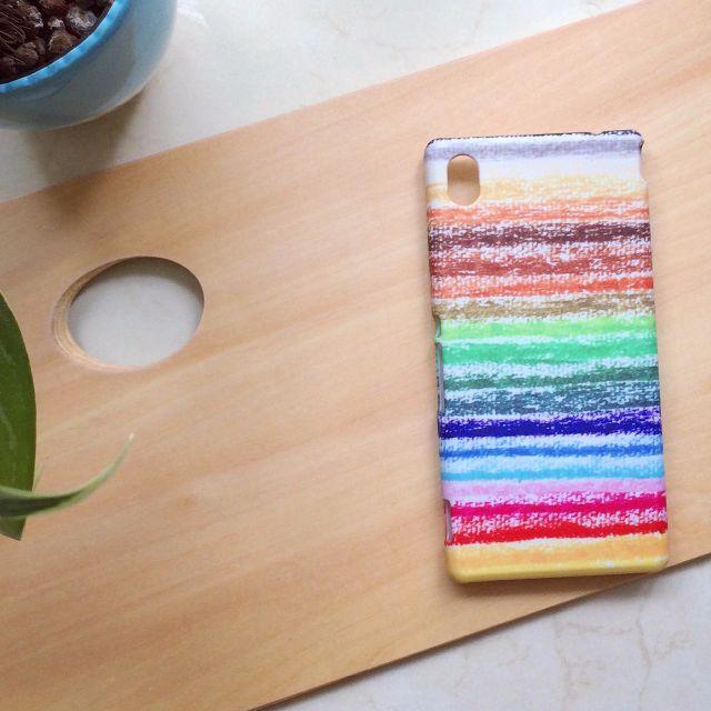 童年記憶彩色蠟筆 //原創手機殼- iPhone, HTC, Samsung, Sony,oppo, LG 磨砂硬殼/全包軟殼