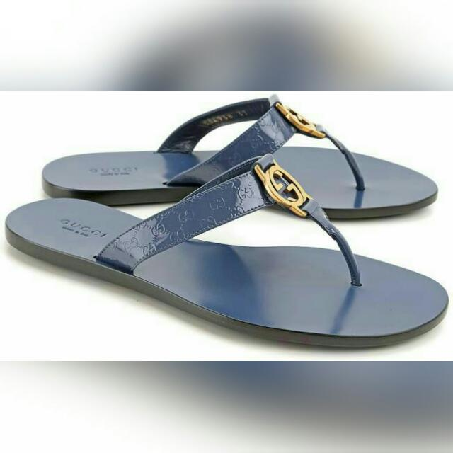 1b8d9f4866027 Poll) 💯 Authentic Gucci Thong Patent Leather Sandal ( Men And Women ...
