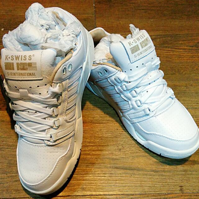 全新 K-SWISS #7號 真皮經典款鞋
