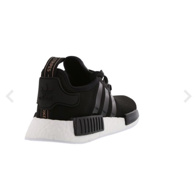Adidas Nmd R1 Black Rose Gold Sports Sports Apparel On Carousell