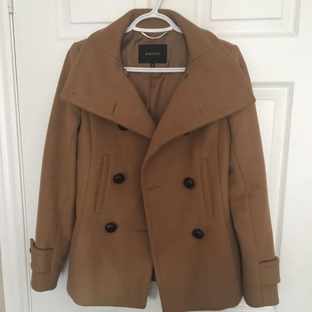 Aritzia Wool Coat Size Xs