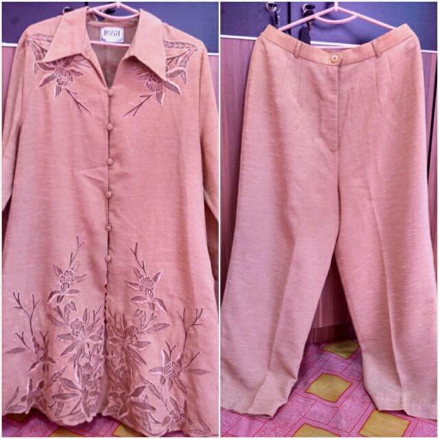Baju Cream Rosa