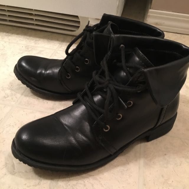 Black Size 8 Boots