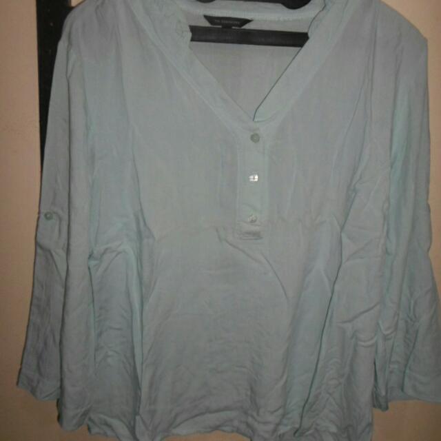 blouse executive baby blue
