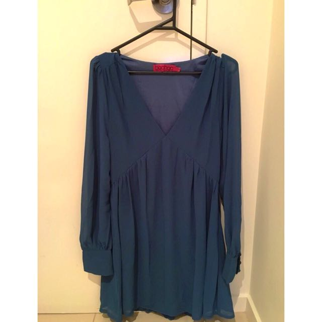 Boohoo Chiffon Dress