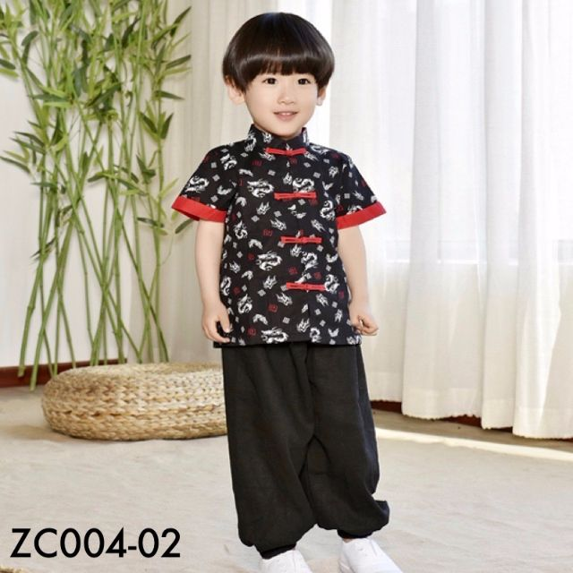 ✩Instock✩ Boy Mandarin (Top Only) - ZC