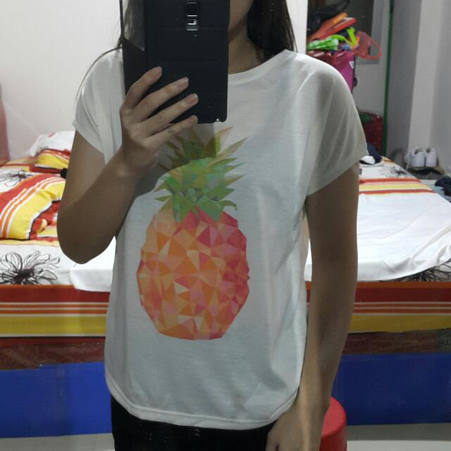 COLORBOX Pineapple Tee Size M