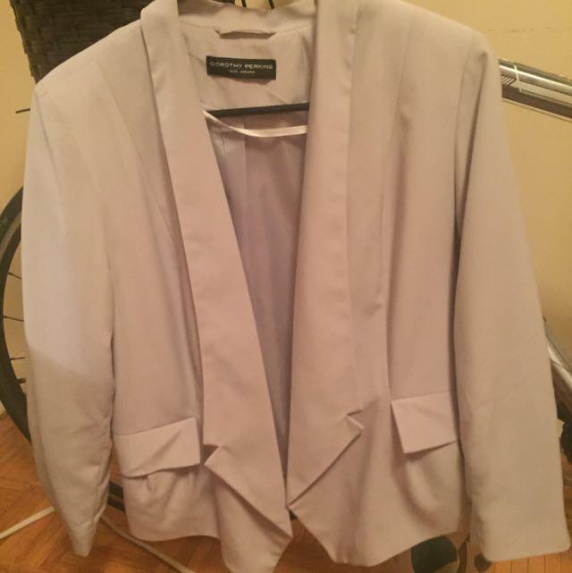 Dorothy Parkins Light Weight Grey Blazer