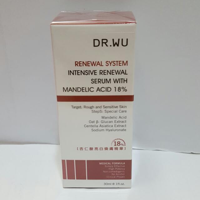 DR.WU 18%杏仁酸 dr.wu杏仁酸