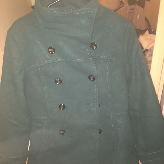 Green Colored Blazer From HNM.  Size Euro 40