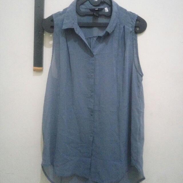 H&M tank shirt Grey