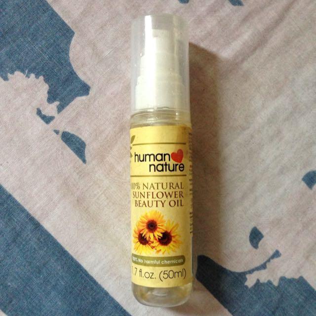 Human Nature Sunflower Oil