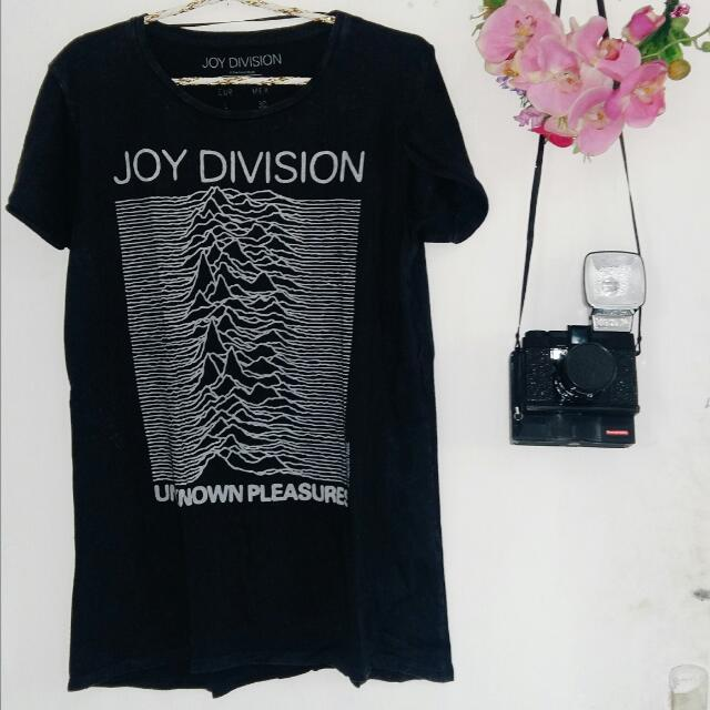 Joy Division x Pull & Bear Distressed Band Tee