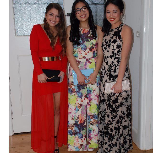Kookai red formal dress