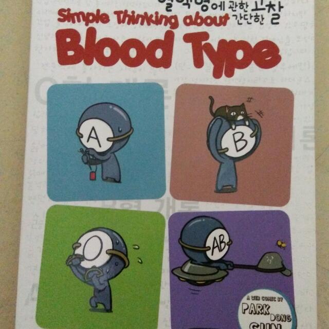 K-toon Blood Type Seri 1