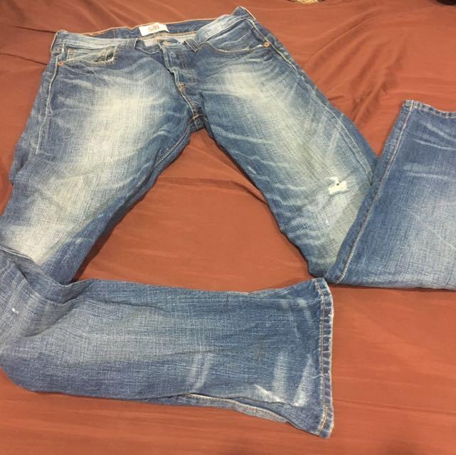Levi's 501水洗牛仔褲