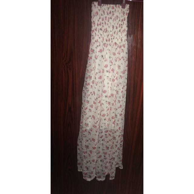 Long Dress Flower KH1248