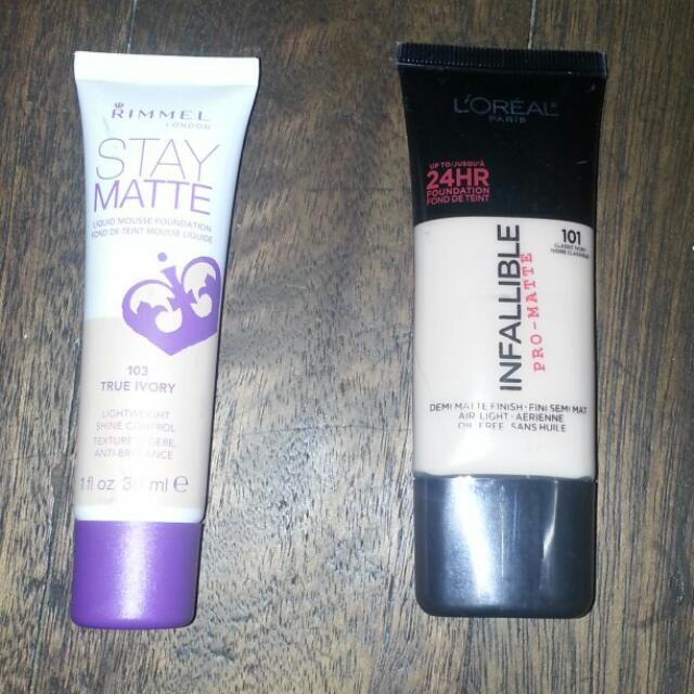 *REPRICED* Loreal Infallible 24hr Pro-matte Foundation
