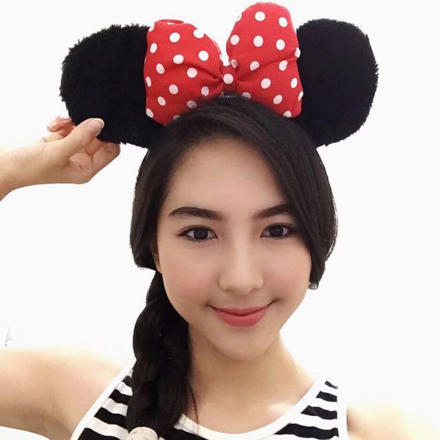 Minnie Ears Headpiece