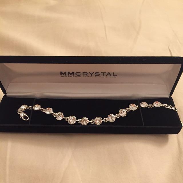 MmCrystal Bracelet With Swarovski Elements