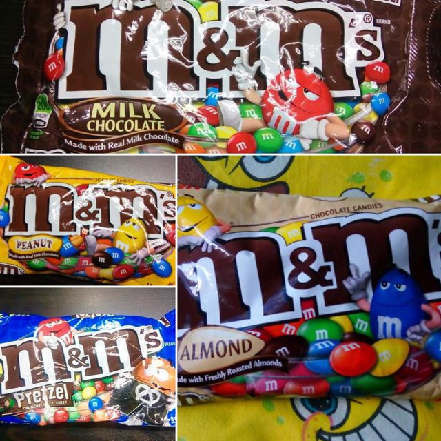 M&M's (All variants)