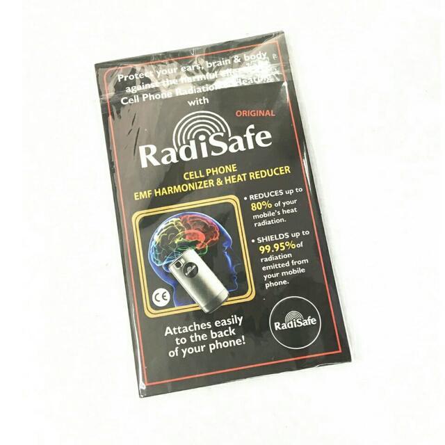 Mobile Phone EMR Anti Radiation RadiSafe Sticker Reduce Heat Shield Upto 99.95%