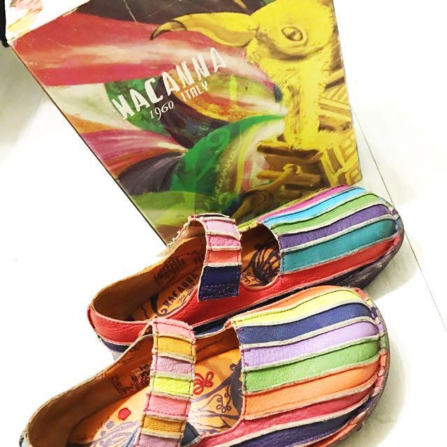 Nacanna 限量彩虹包鞋