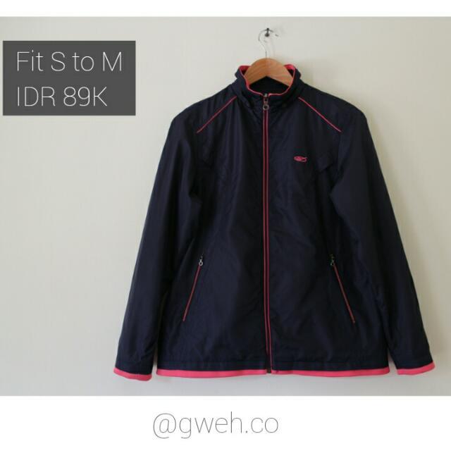 Perfect Black Pink Sport Jacket.