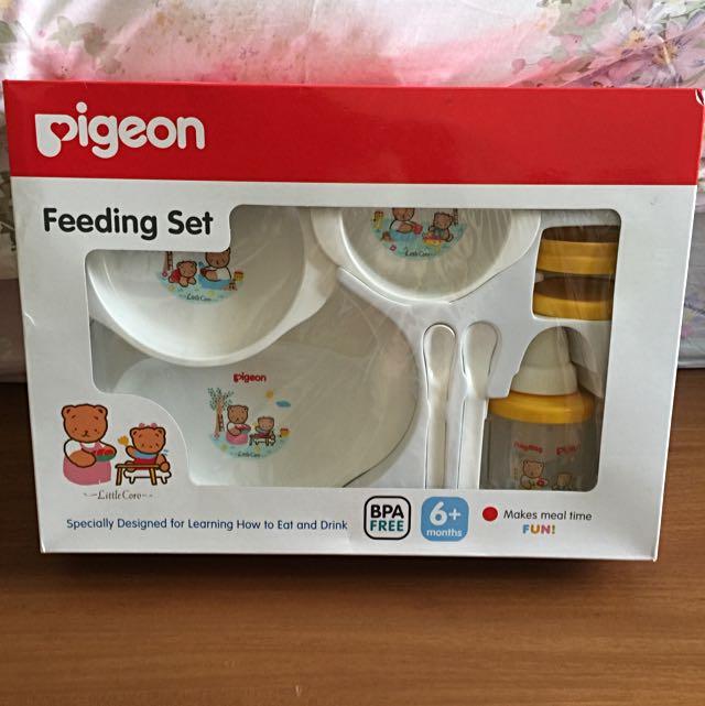 Pigeon Feeding Set
