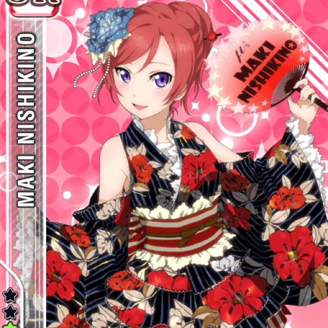 3021bd07e Love Live! Nishikino Maki idolised yukata Cosplay PENDING, Entertainment,  J-pop on Carousell
