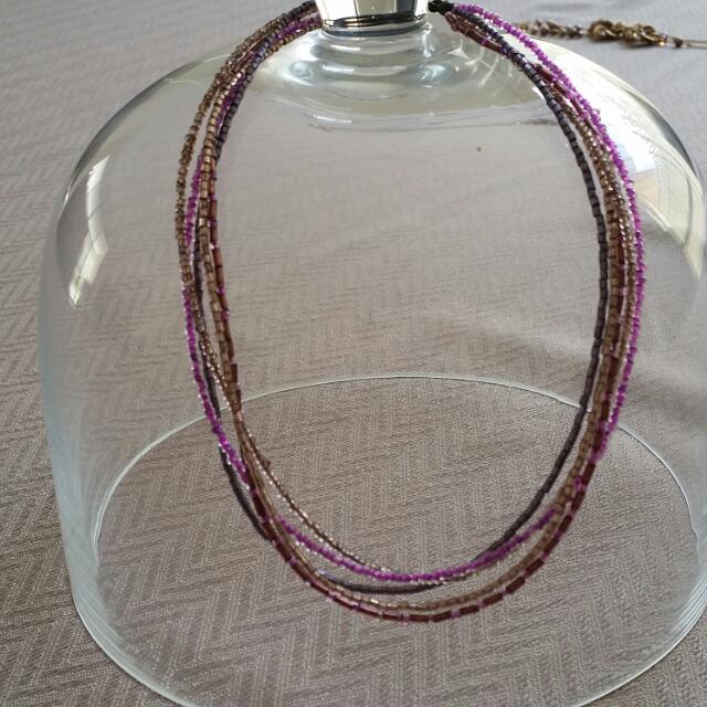 Purple Toned Necklace