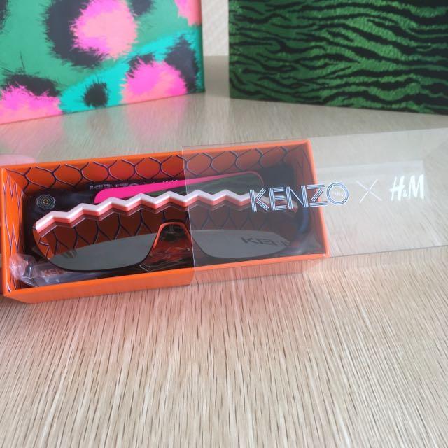 Ready H&M x Kenzo Fashion Sunglasses Limited