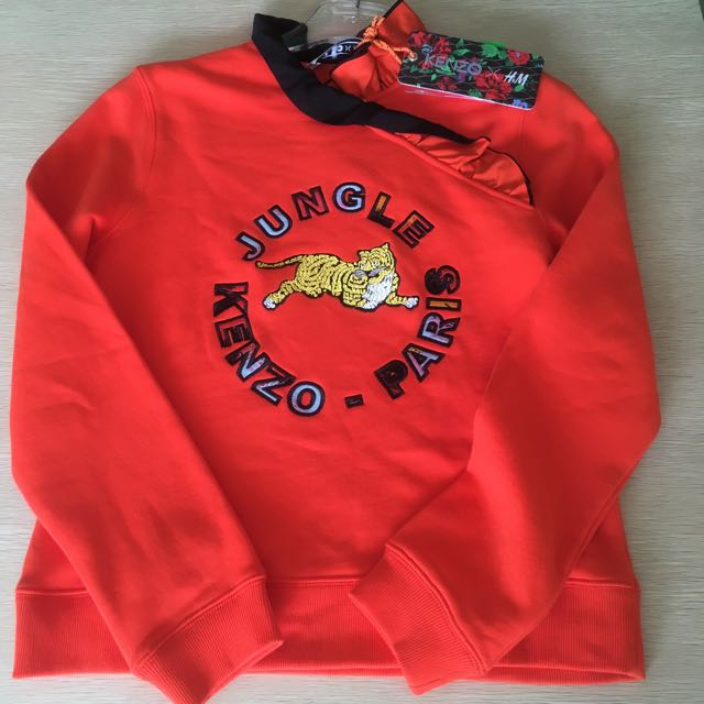 Ready H&M x Kenzo Sweater Cewe Limited