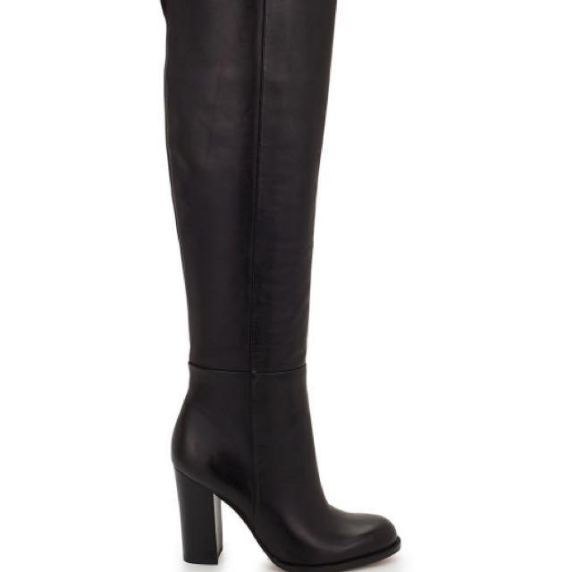 Sam Edelman Rylan Leather Knee High Boot