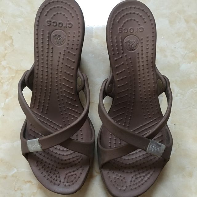 Sandal Wedges Crocs Original