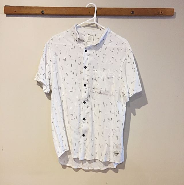 Short Sleeve Button-Up (ROLLAS)