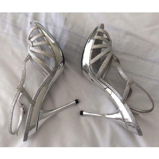 Silver Stilettos!