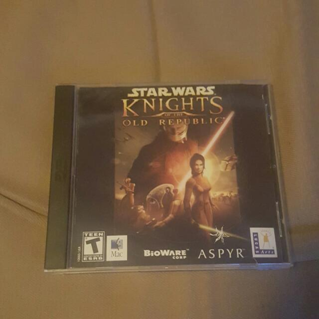 Star Wars Knights Of The Old Republic  (PC& MAC)