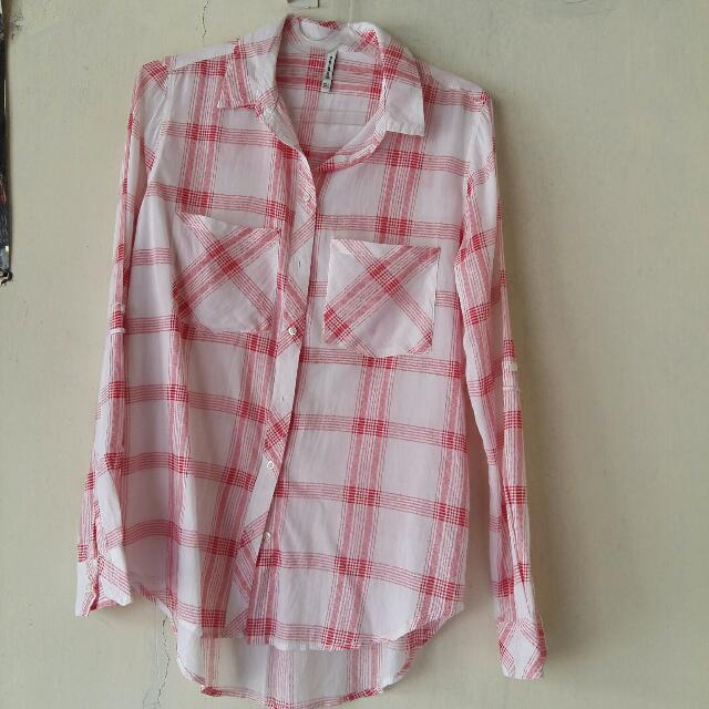 STRADIVARIUS Checked Shirt
