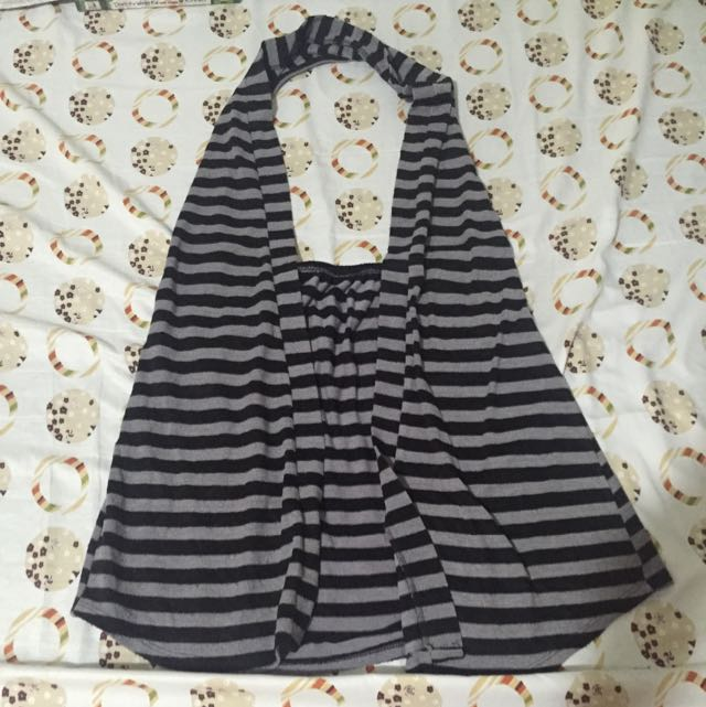 Striped Halter Vest