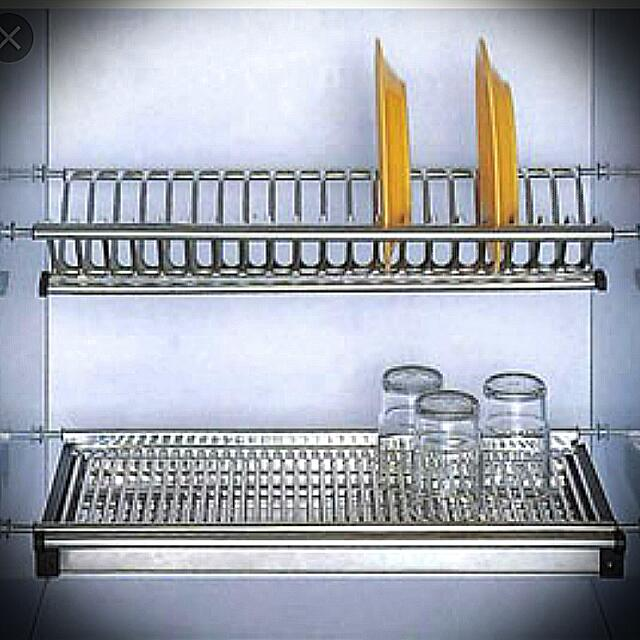 Teriso T9800 Draining Dish Rack For Kitchen Cabinet