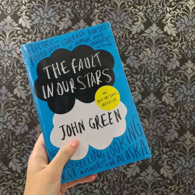 The Fault In Our Stars Novel By John Green